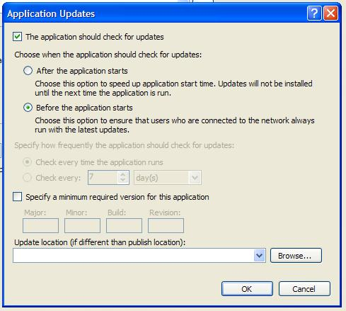 .NET development: Deploy and Update WPF application with ...